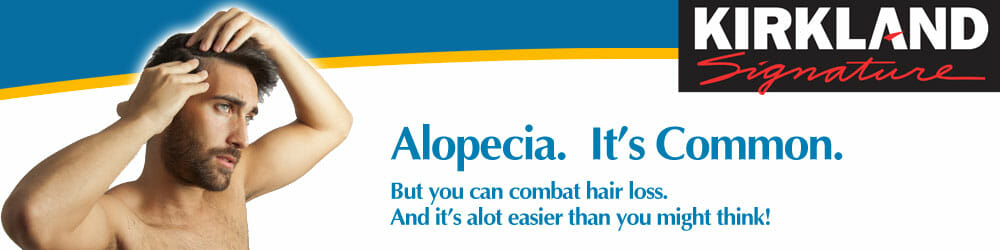 Alopecia or Hair Loss in Men - Treat it Today with Minoxidil