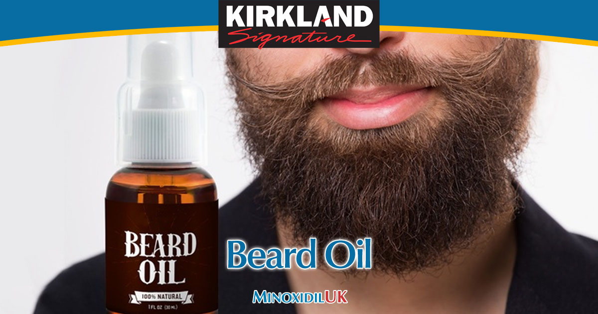 Beard Oil - Keep your Minoxidil Beard in Great Shape