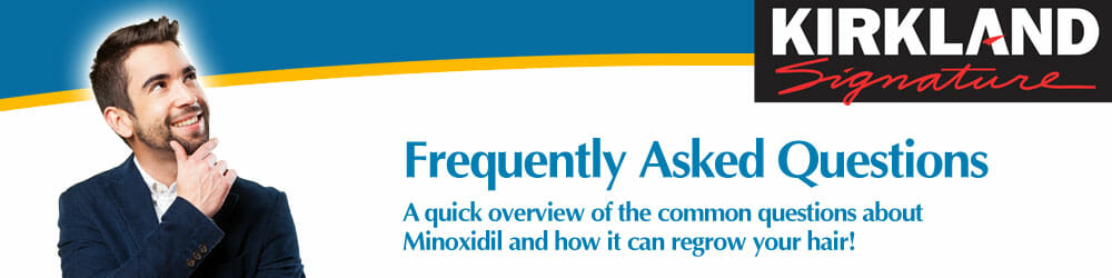 FAQs - Frequently Asked Questions about Minoxidil Hair Loss Treatment