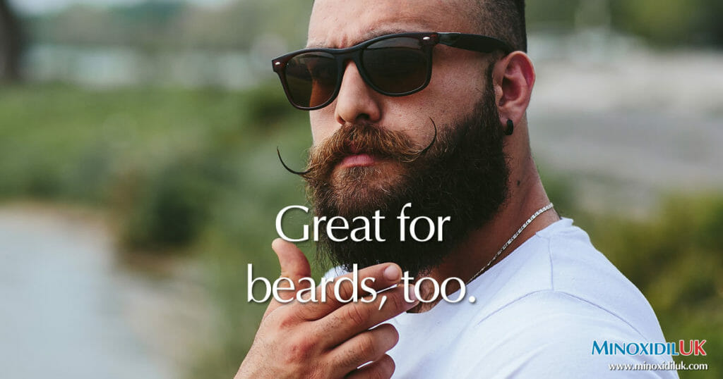 Great for Beards too - MinoxidilUK