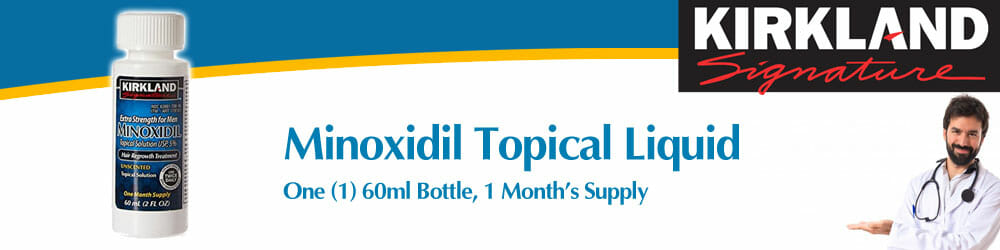Kirkland Signature Minoxidil Topical Solution 1 Month's Supply