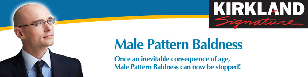 Male Pattern Baldness and How to Stop It - Minoxidil Male Hair Restorer