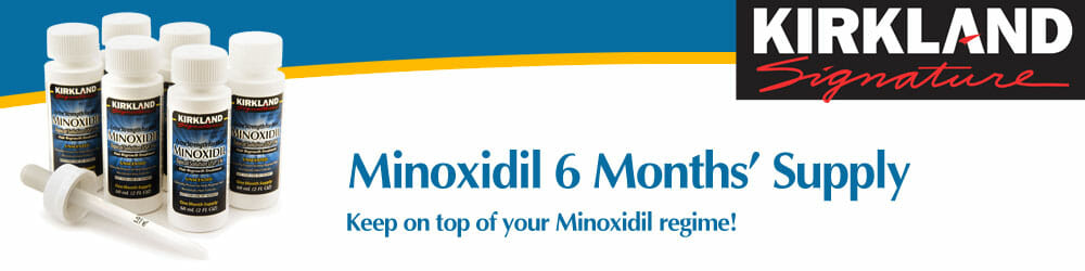 Minoxidil Topical Solution 6 Month's Supply - MinoxidilUK