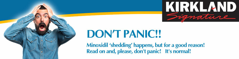 Minoxidil Shedding - What you Need to Know