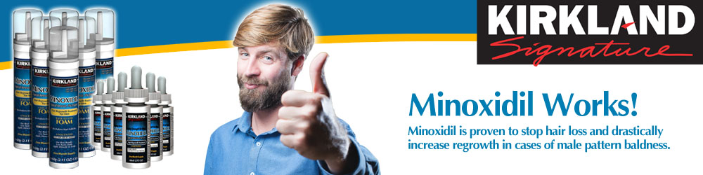 Minoxidil Works - Buy the Number One Male Hair Loss Treatment from MinoxidilUK
