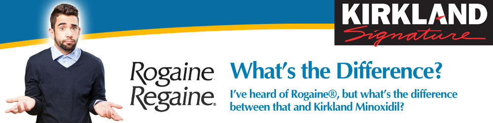 Rogaine and Regaine are Brand Names of Minoxidil