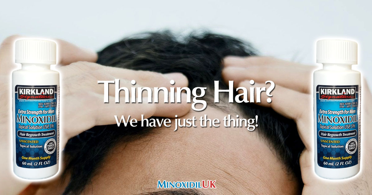 Thinning Hair - Minoxidil Hair Loss Treatment OG01