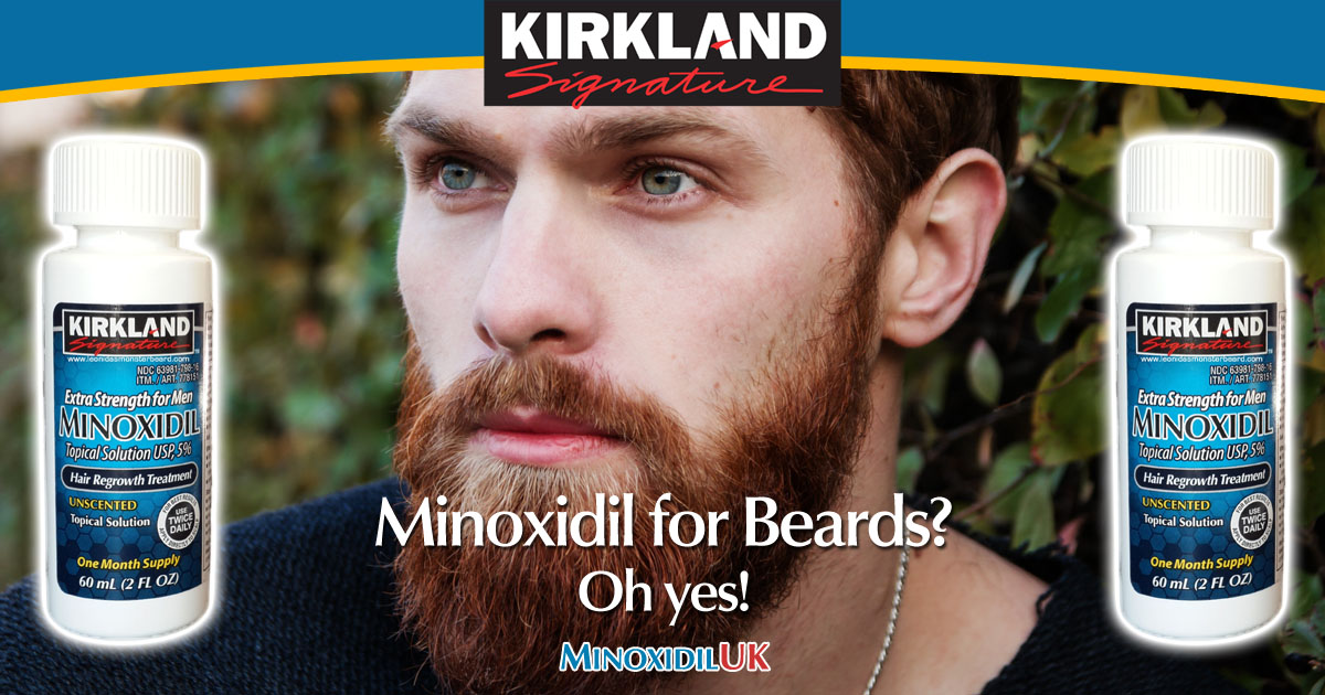 Beard Growth with Minoxidil