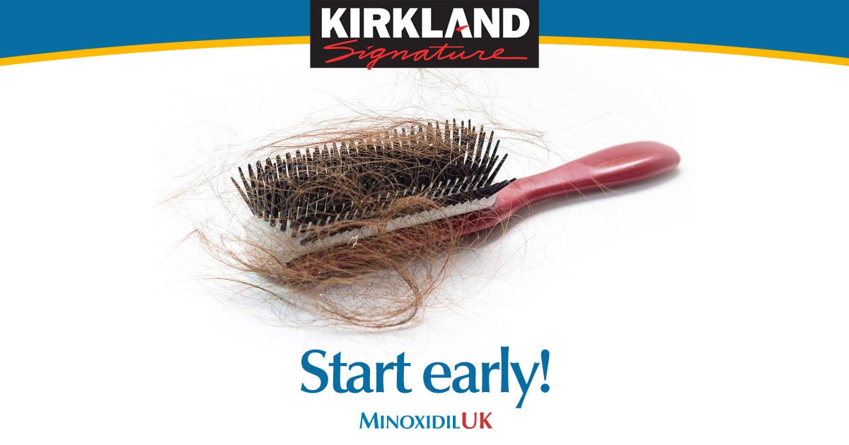 Start Minoxidil Treatment Early