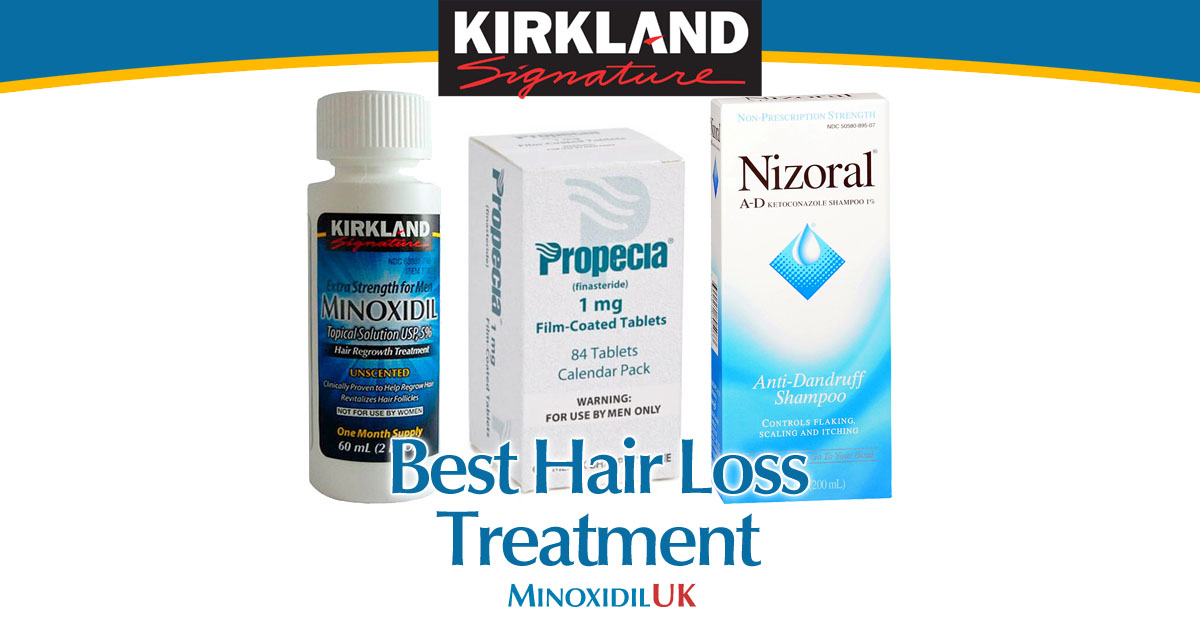 Best Hair Loss Treatment - Minoxidil Finasteride Nizoral