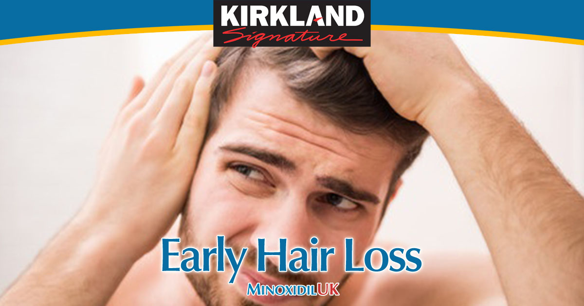Early Hair Loss - Start your Minoxidil Treatment Early