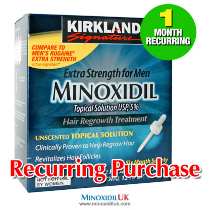 Kirkland Minoxidil Topical Solution 1 Month Recurring