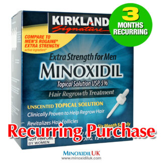 Kirkland Minoxidil Topical Solution 3 Months Recurring