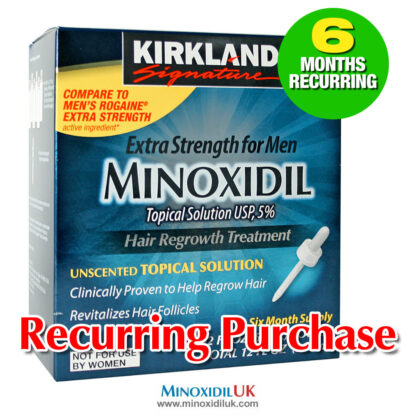 Kirkland Minoxidil Topical Solution 6 Months Recurring